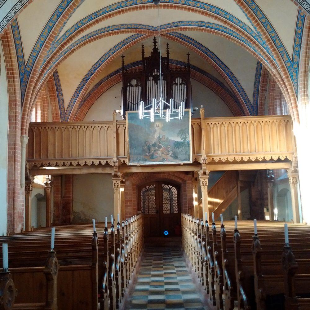 Kirche Klaber, Orgelempore