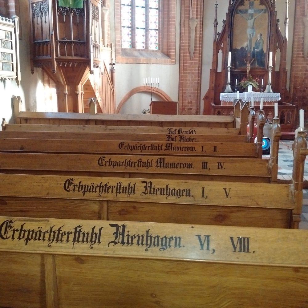 Kirche und Gutshaus Klaber Erbpächter