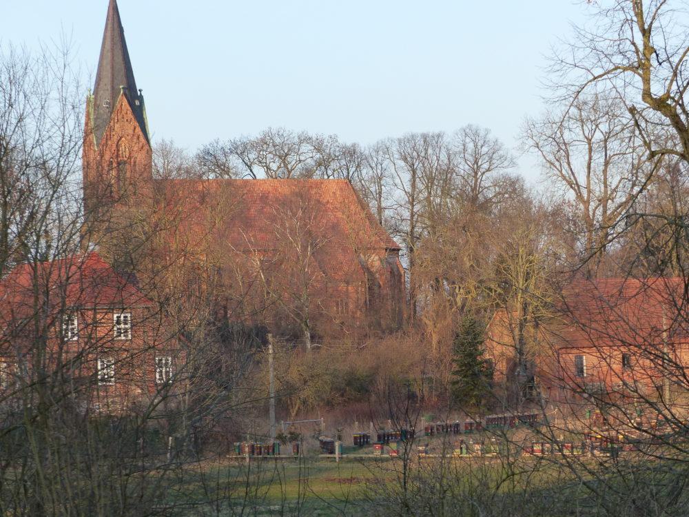 Gutshaus Klaber Kirche Backstein